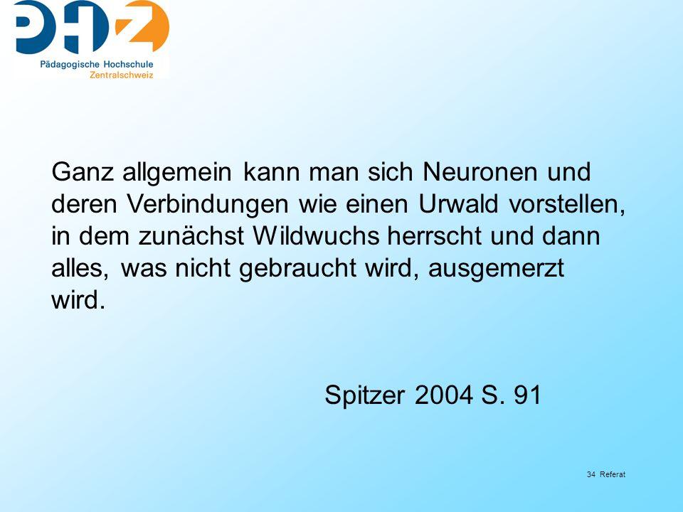 Ganz allgemein kann man sich Neuronen und