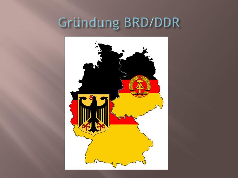 Gründung BRD/DDR