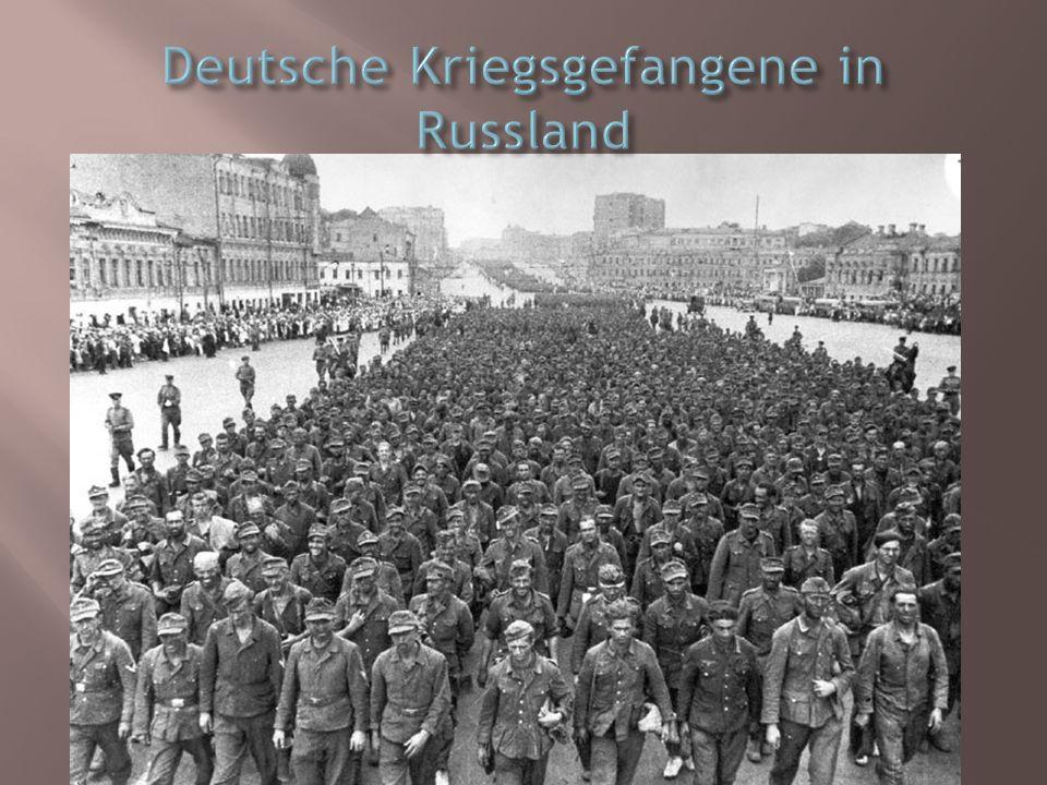 Deutsche Kriegsgefangene in Russland
