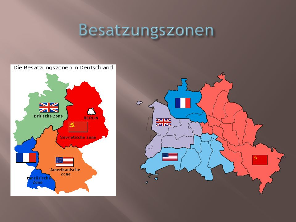 Besatzungszonen