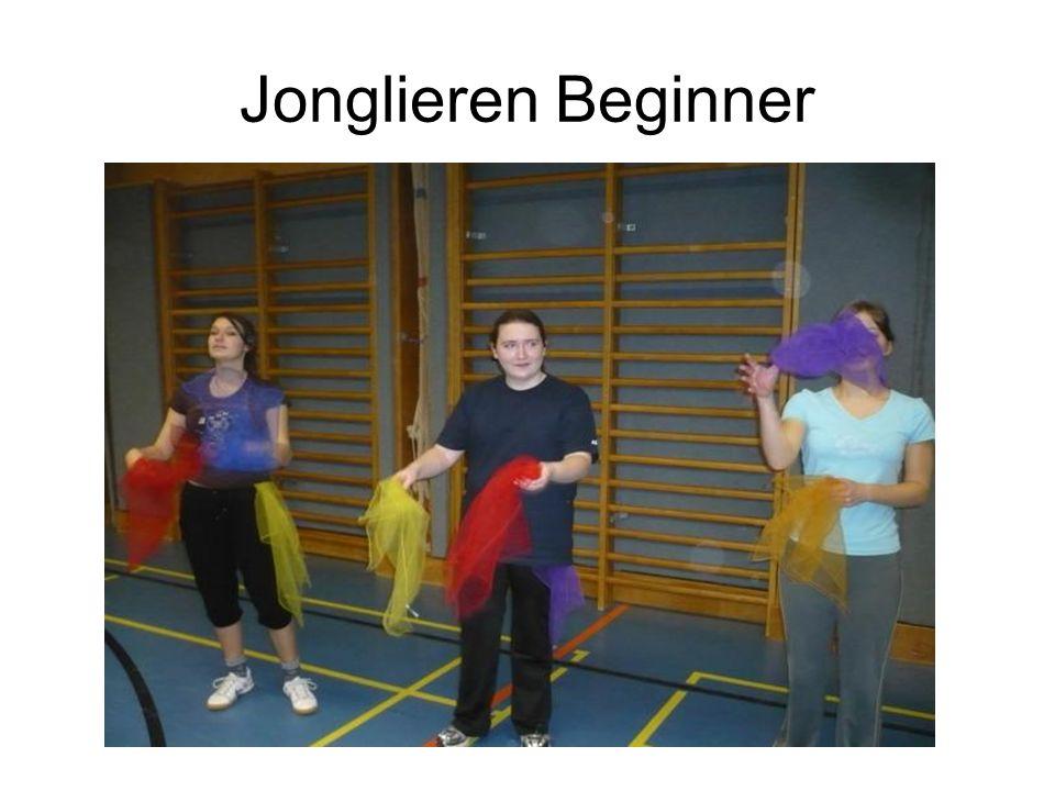 Jonglieren Beginner
