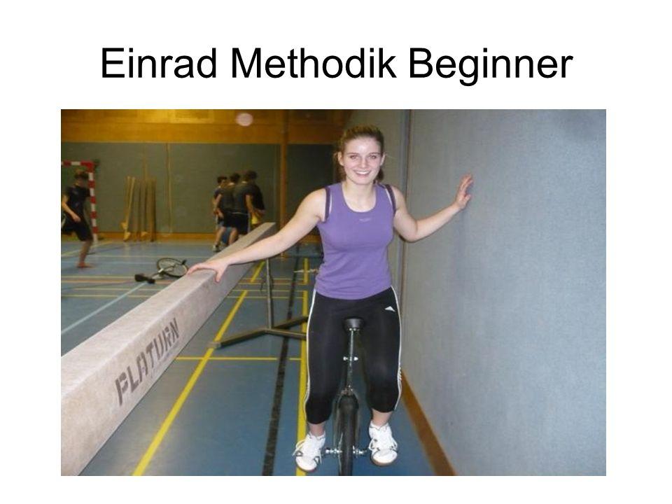 Einrad Methodik Beginner