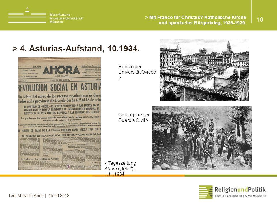 > 4. Asturias-Aufstand, 10.1934.