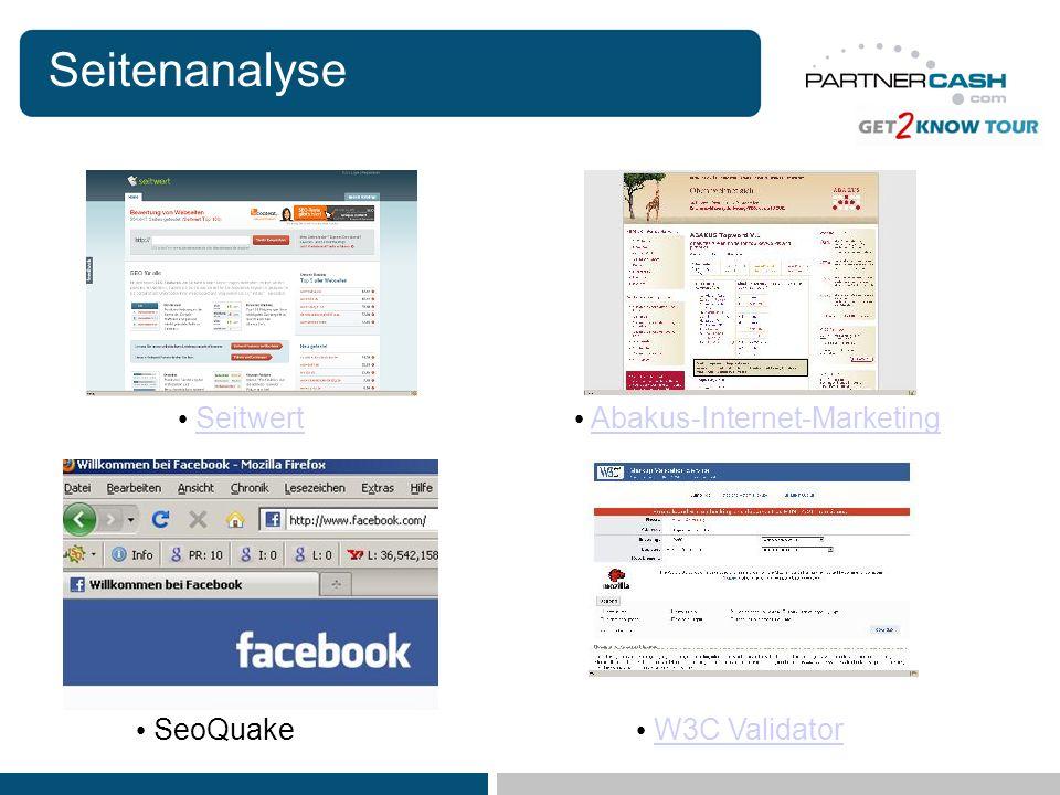 Seitenanalyse Seitwert Abakus-Internet-Marketing SeoQuake