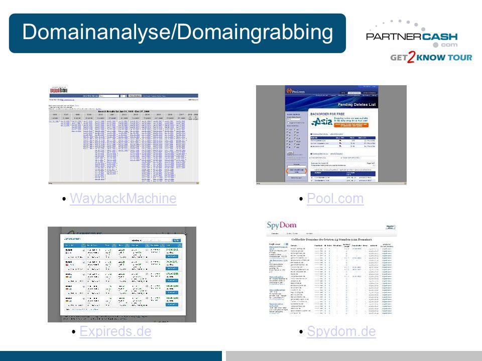 Domainanalyse/Domaingrabbing