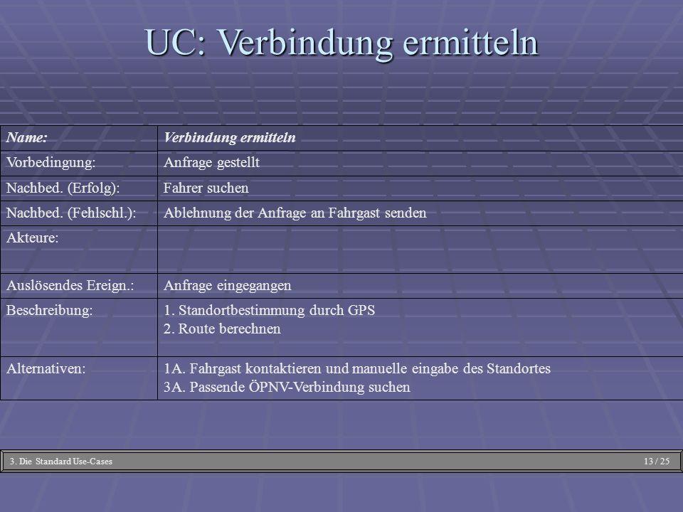 UC: Verbindung ermitteln