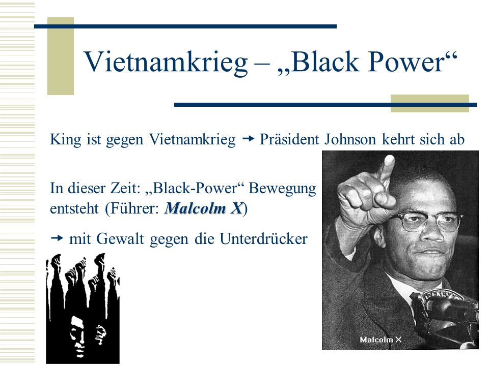 "Vietnamkrieg – ""Black Power"