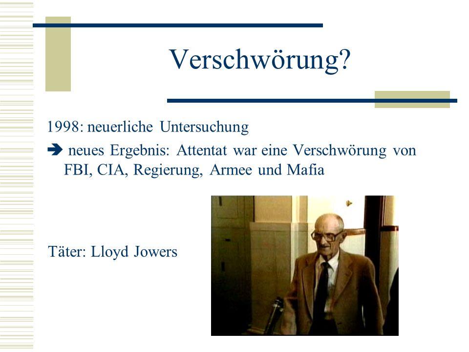 Verschwörung 1998: neuerliche Untersuchung