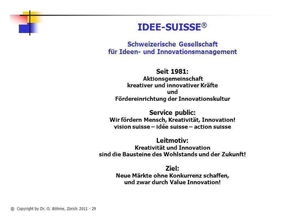 IDEE-SUISSE® Schweizerische Gesellschaft