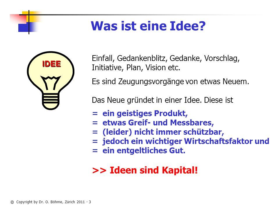Was ist eine Idee >> Ideen sind Kapital!