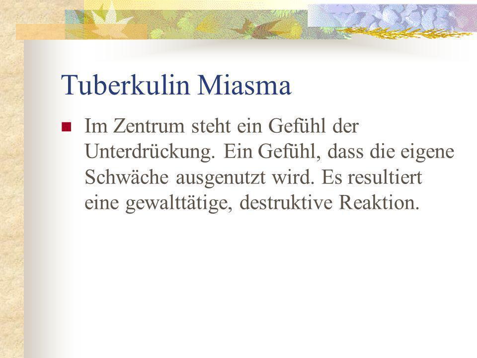 Tuberkulin Miasma