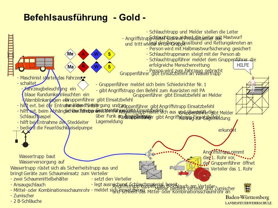 Befehlsausführung - Gold -