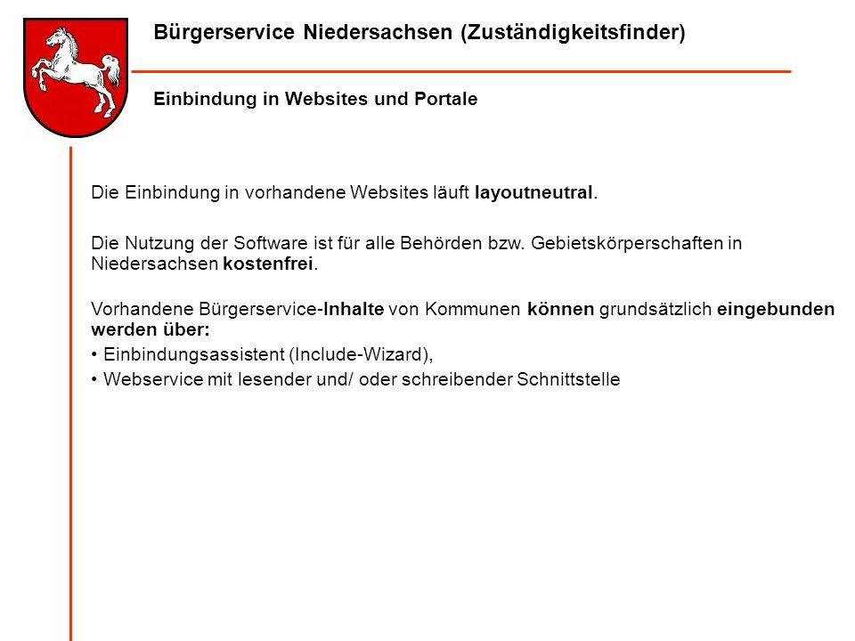 Bürgerservice Niedersachsen (Zuständigkeitsfinder)
