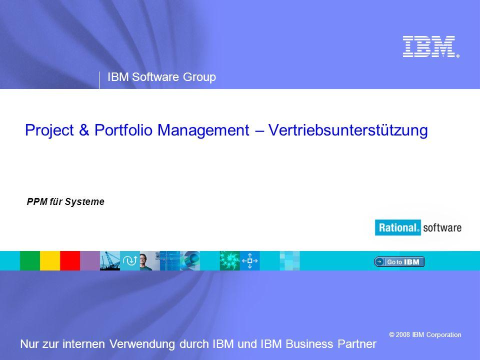 Project & Portfolio Management – Vertriebsunterstützung