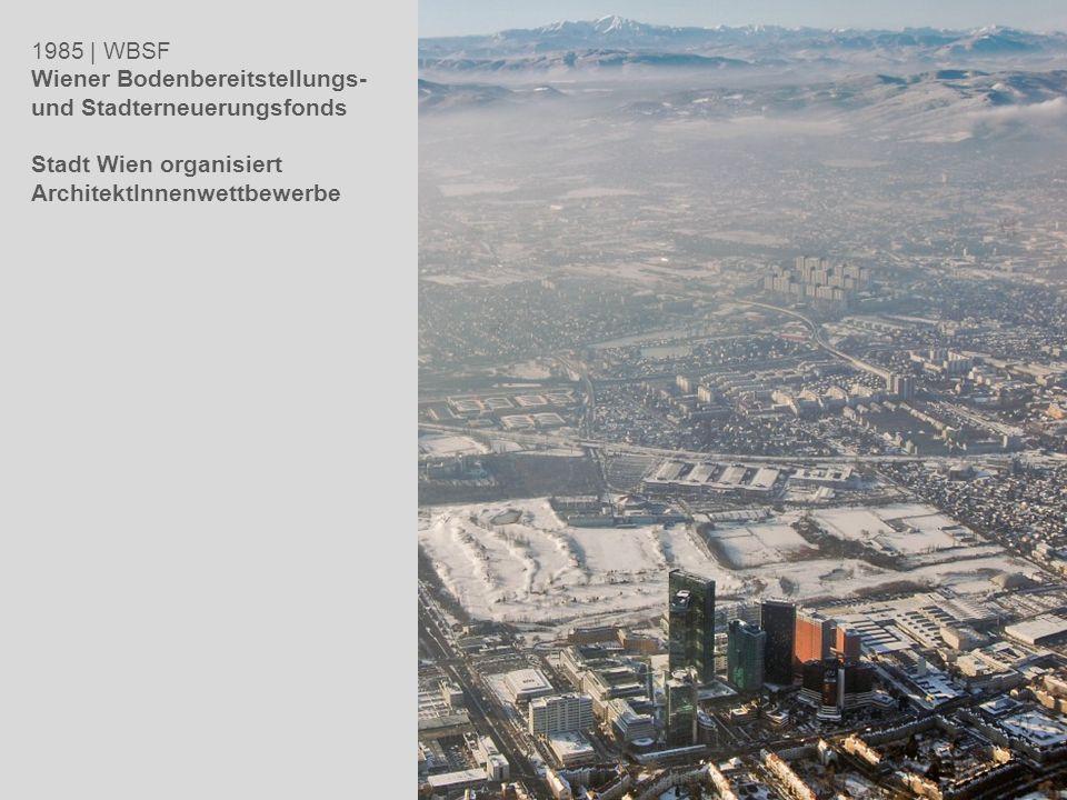 1985 | WBSF Wiener Bodenbereitstellungs- und Stadterneuerungsfonds