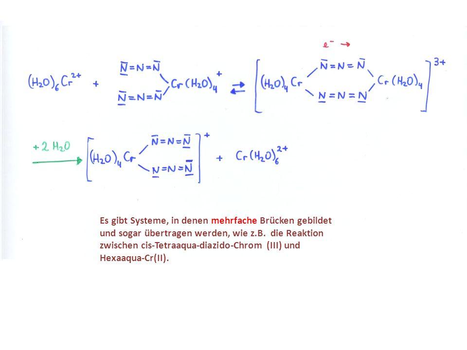 Es gibt Systeme, in denen mehrfache Brücken gebildet und sogar übertragen werden, wie z.B.