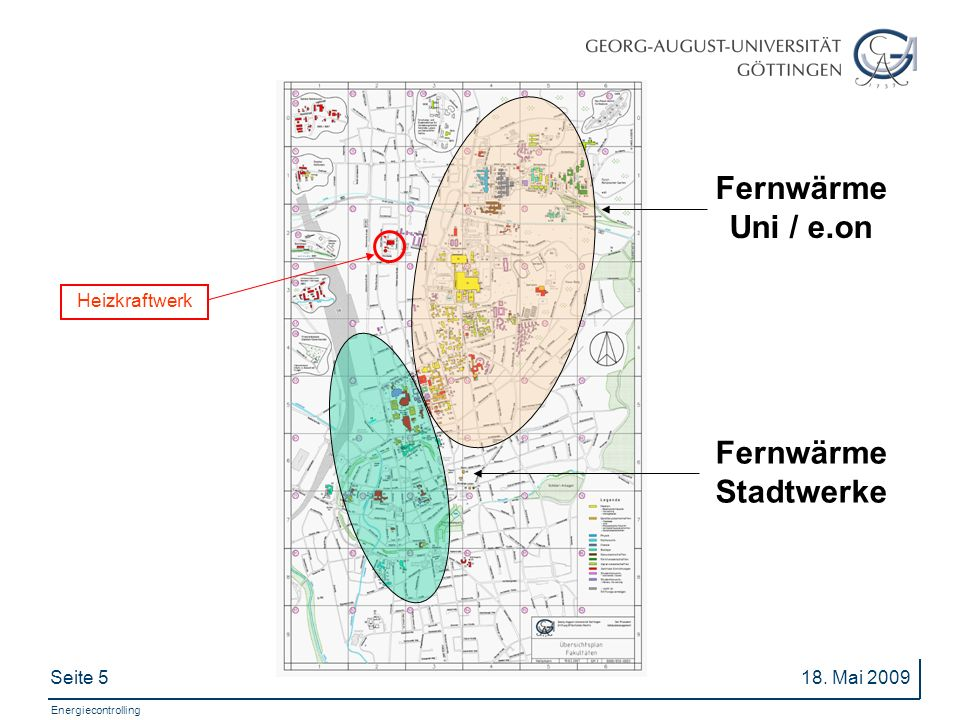 Fernwärme Uni / e.on Fernwärme Stadtwerke