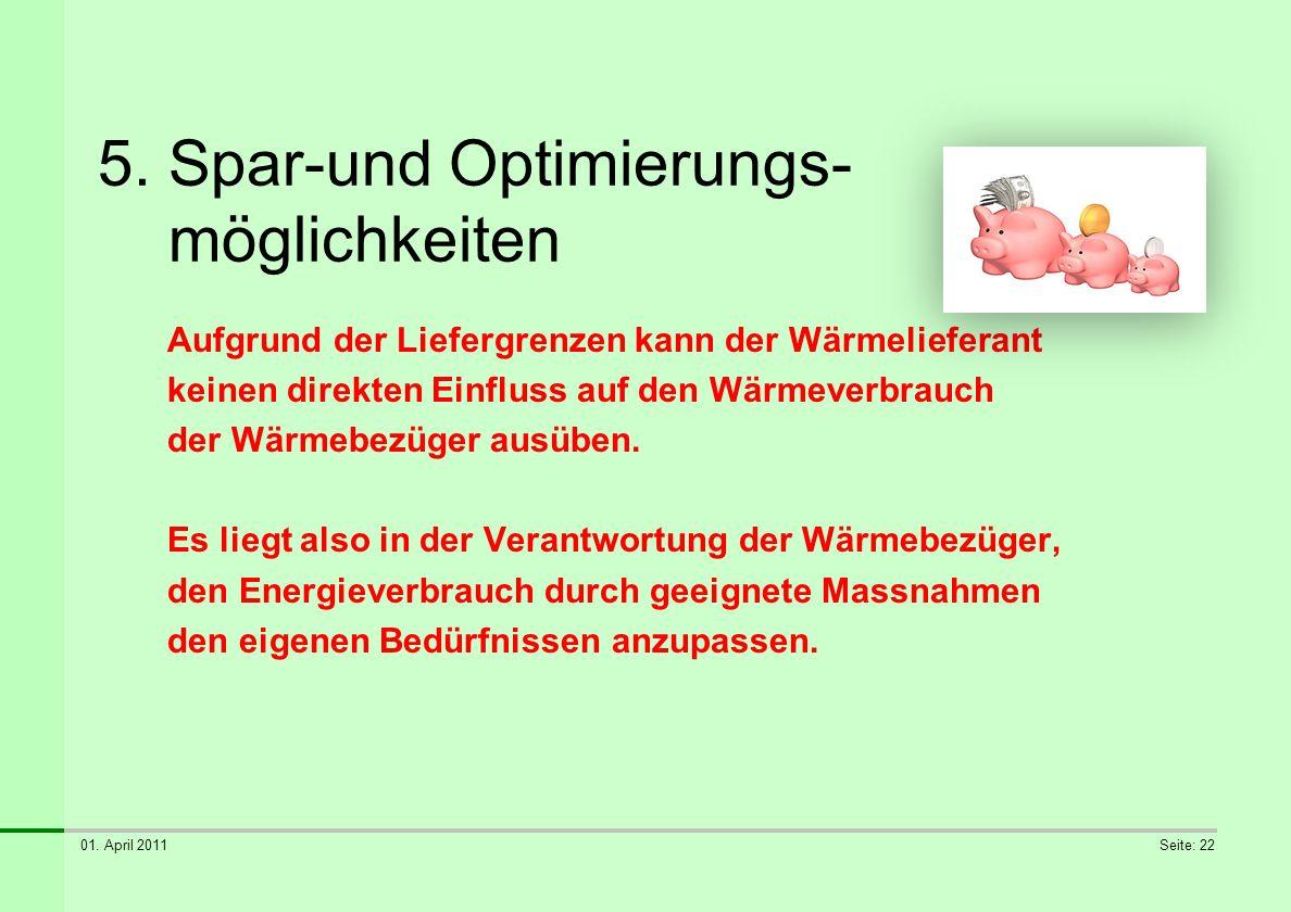5. Spar-und Optimierungs- möglichkeiten