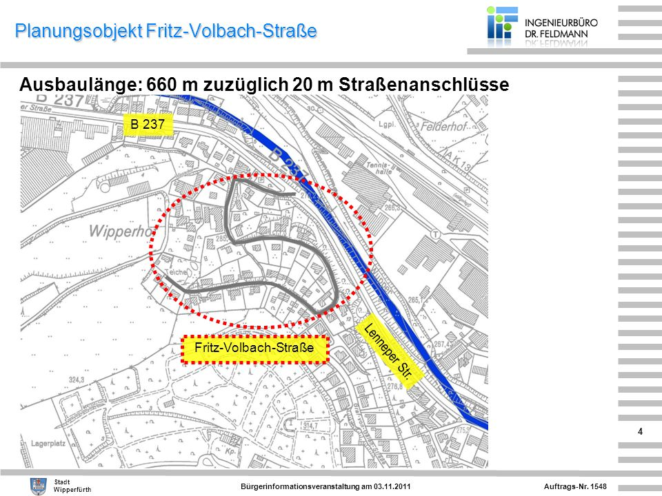 Planungsobjekt Fritz-Volbach-Straße