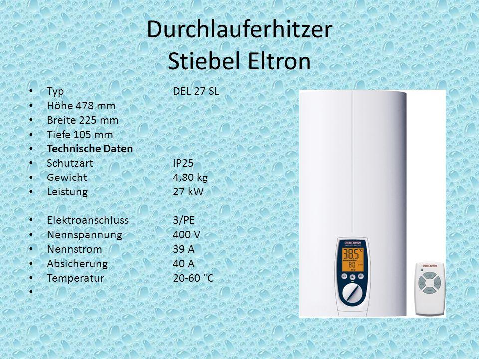 Durchlauferhitzer Stiebel Eltron