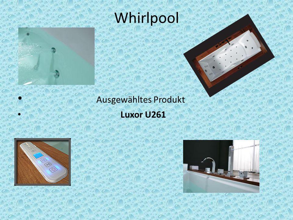 Whirlpool Ausgewähltes Produkt Luxor U261