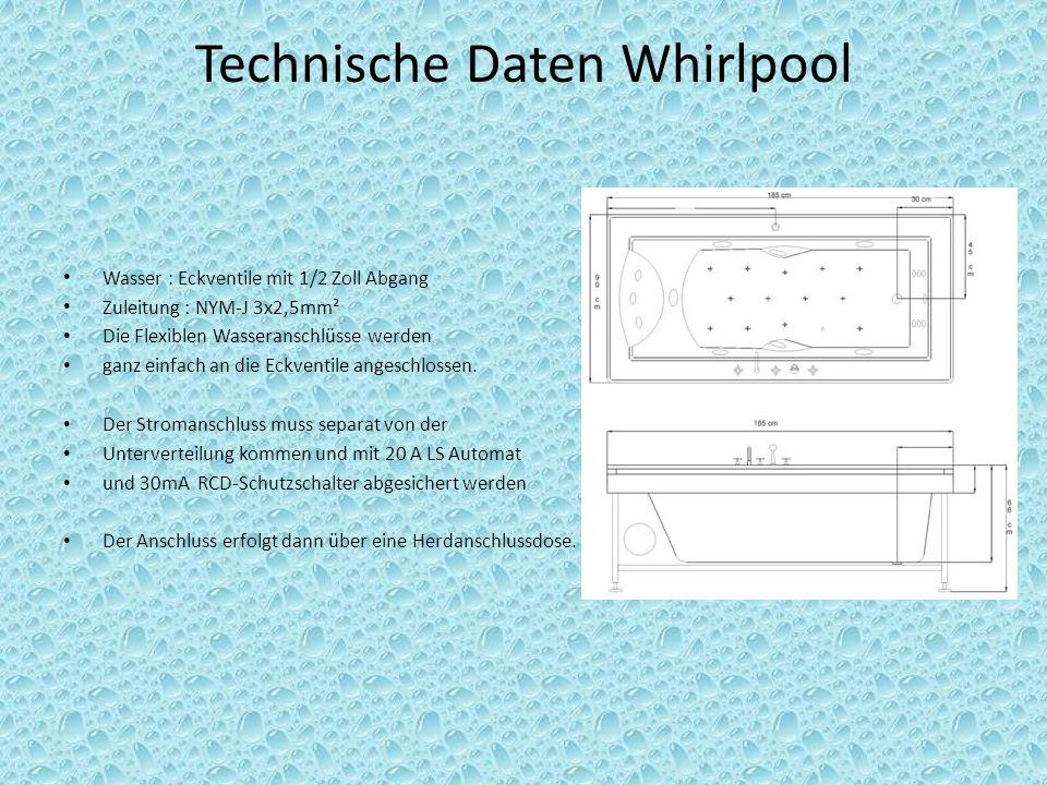 Technische Daten Whirlpool