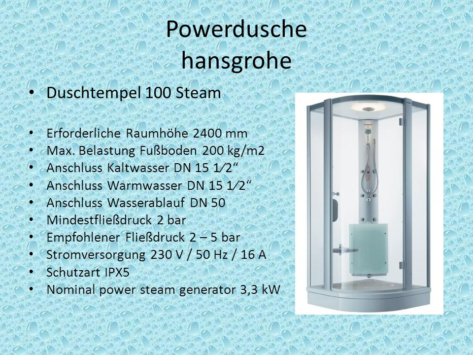 Powerdusche hansgrohe