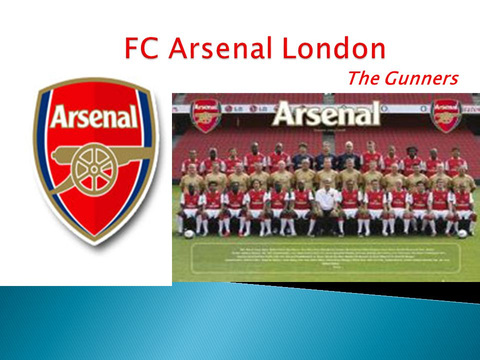FC Arsenal London The Gunners