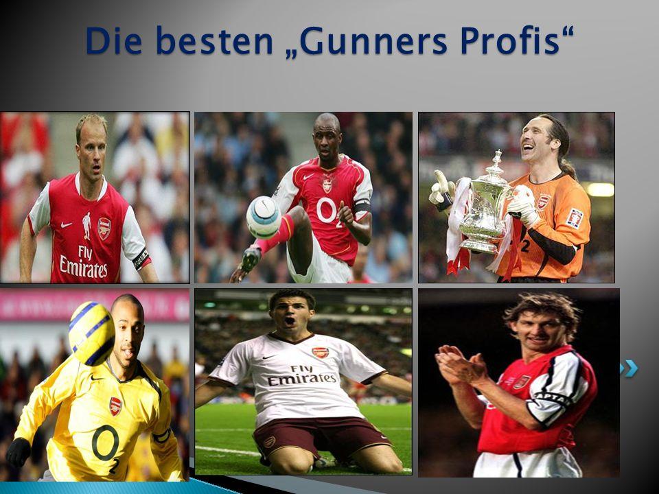"""Die besten """"Gunners Profis"""