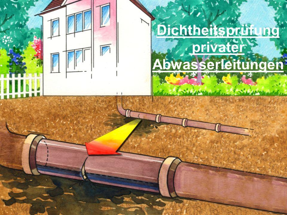 privater Abwasserleitungen