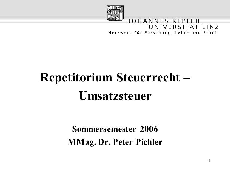 Repetitorium Steuerrecht –
