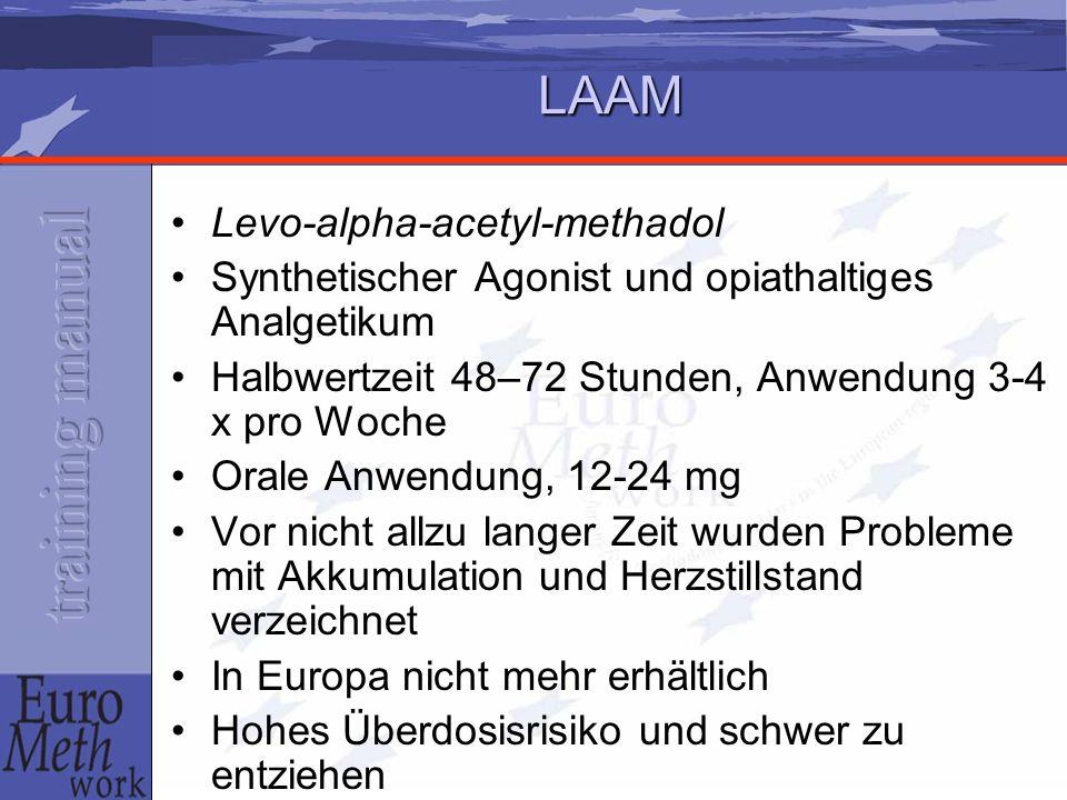 LAAM Levo-alpha-acetyl-methadol