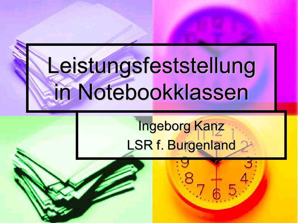 Leistungsfeststellung in Notebookklassen