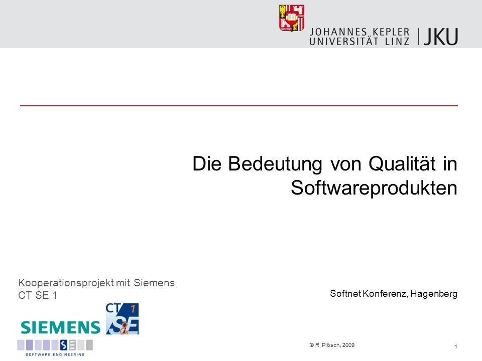 Die Bedeutung von Qualität in Softwareprodukten