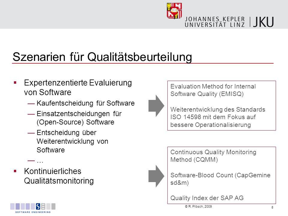Szenarien für Qualitätsbeurteilung