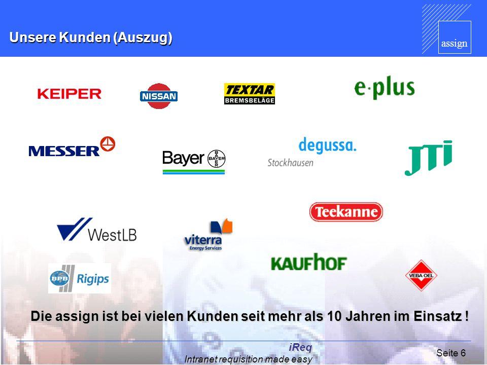 Unsere Kunden (Auszug)