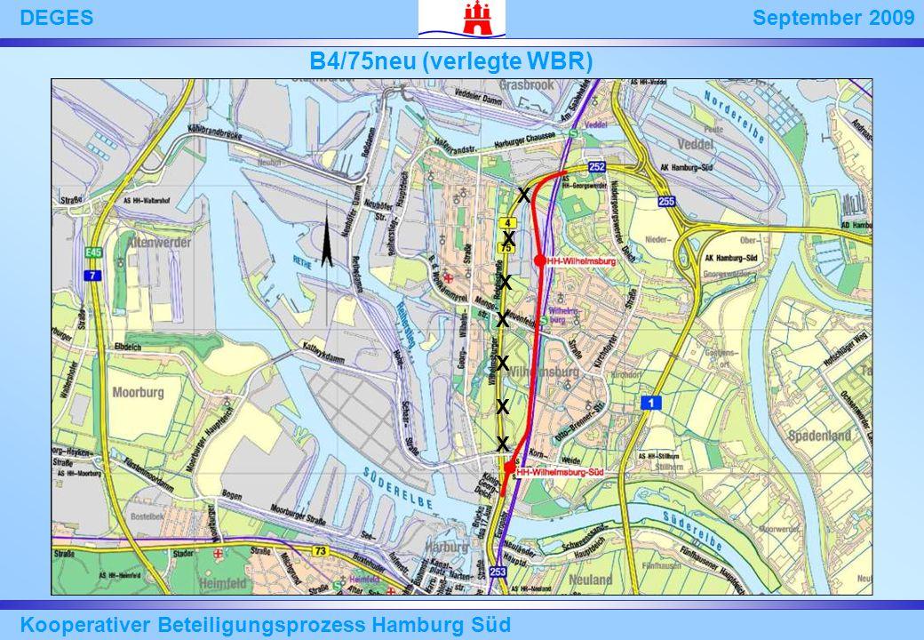 B4/75neu (verlegte WBR) X Kooperativer Beteiligungsprozess Hamburg Süd