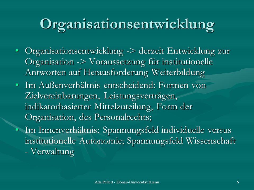 Organisationsentwicklung