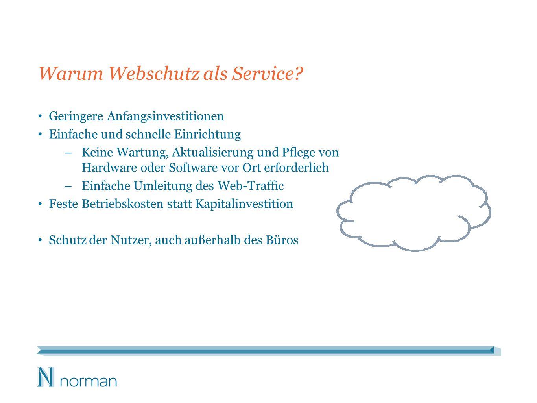 Warum Webschutz als Service