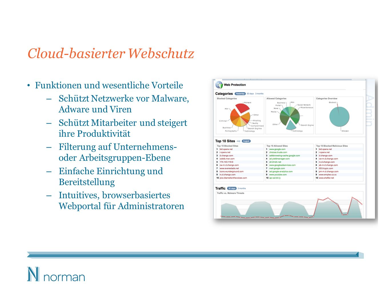 Cloud-basierter Webschutz