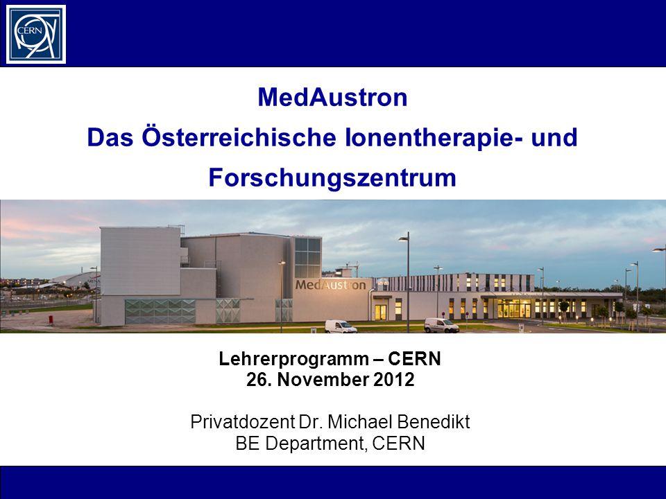 MedAustron Das Österreichische Ionentherapie- und Forschungszentrum