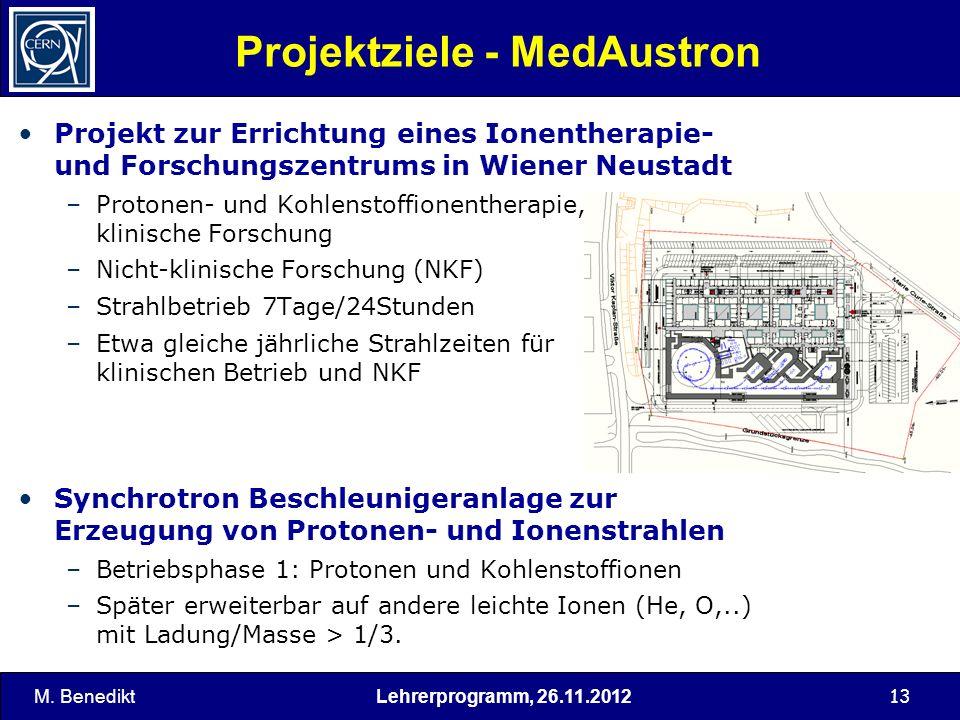 Projektziele - MedAustron