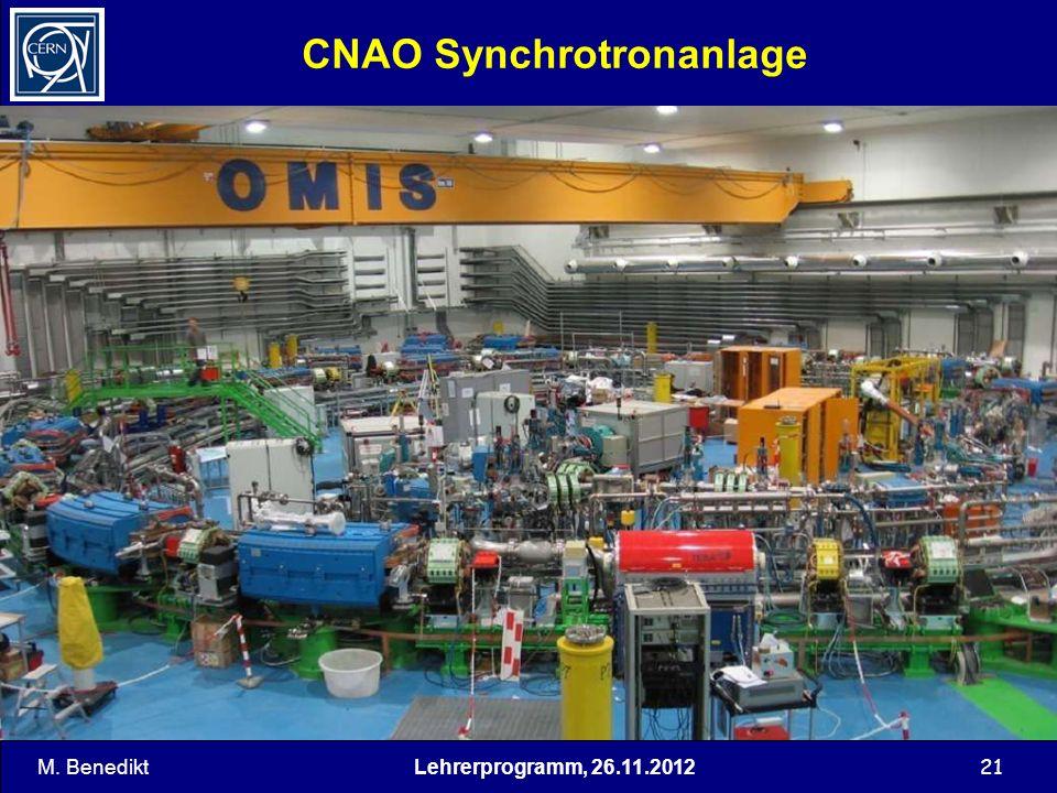 CNAO Synchrotronanlage