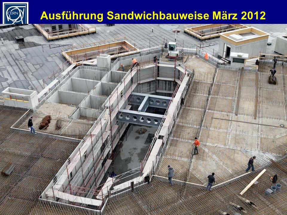 Ausführung Sandwichbauweise März 2012