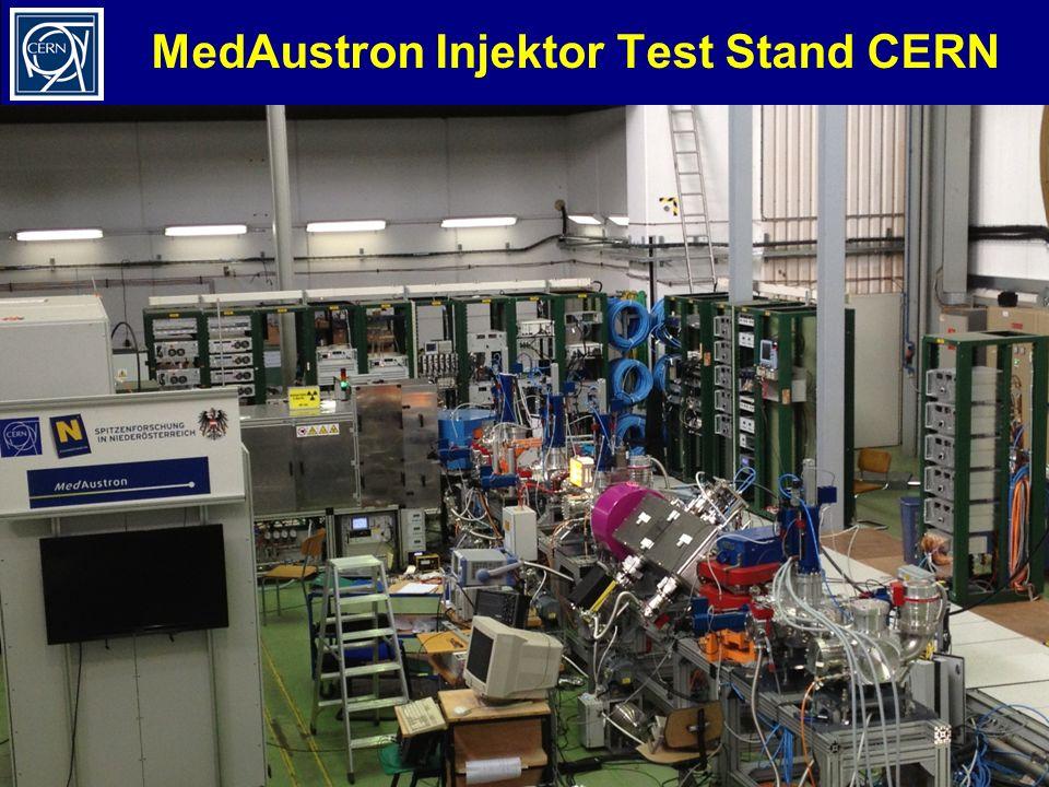 MedAustron Injektor Test Stand CERN