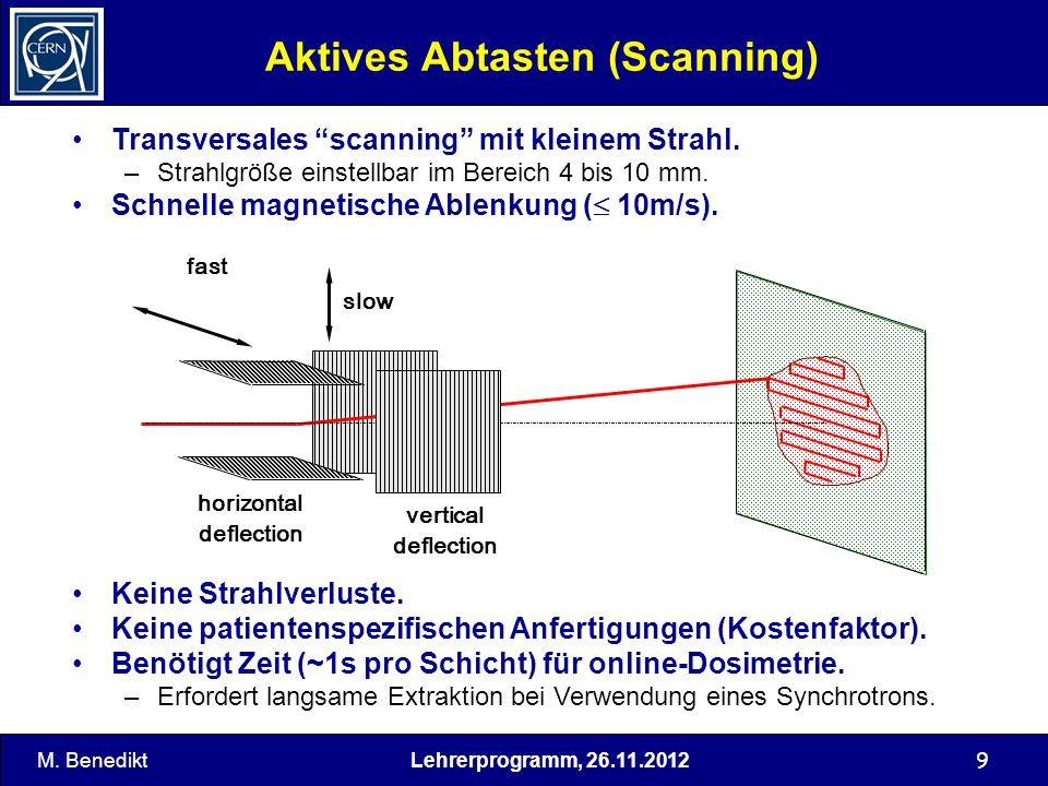 Aktives Abtasten (Scanning)