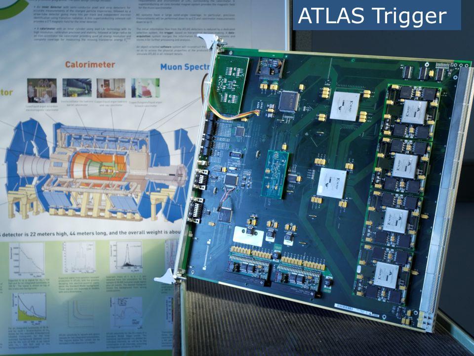 ATLAS Trigger FPGAs Xilinx XC2V1500 Virtex 2 LVDS DSS