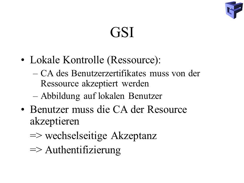 GSI Lokale Kontrolle (Ressource):