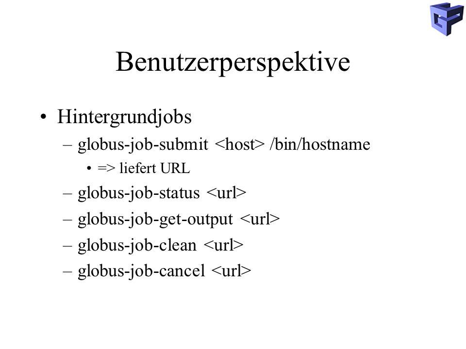 Benutzerperspektive Hintergrundjobs