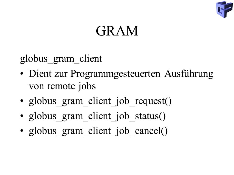 GRAM globus_gram_client